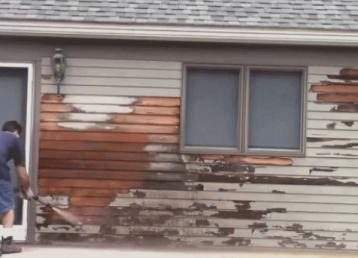 residential-sandblasting-vancouver washington-blasting-paint-off-of-exterior-of-house
